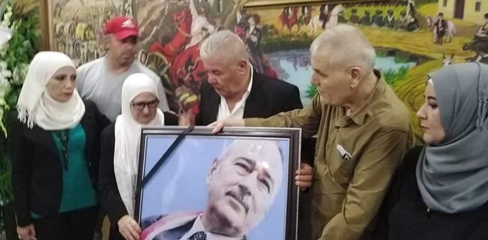 """Photo of حفل تأبيني لـ  ابن الجولان العقيد المتقاعد """"حسين حاج صالح"""" (صور +فيديو)"""