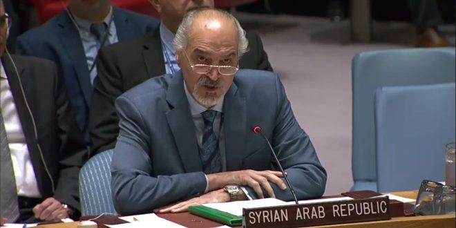 Photo of الجعفري: الغرب يواصل إساءة استخدام آليات الأمم المتحدة لتسييس الوضع الإنساني في سوريا