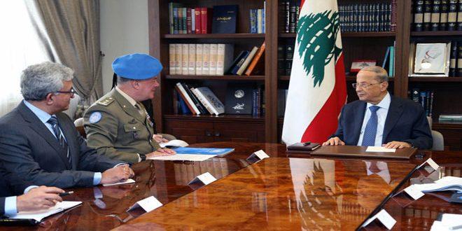 Photo of عون: لبنان يحتفظ بحقه المشروع بالدفاع عن النفس إذا ما تعرض لأي اعتداء