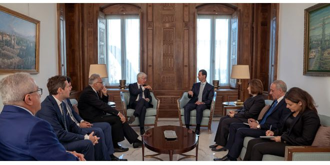 Photo of وفد برلماني إيطالي بضيافة الرئيس الأسد بدمشق