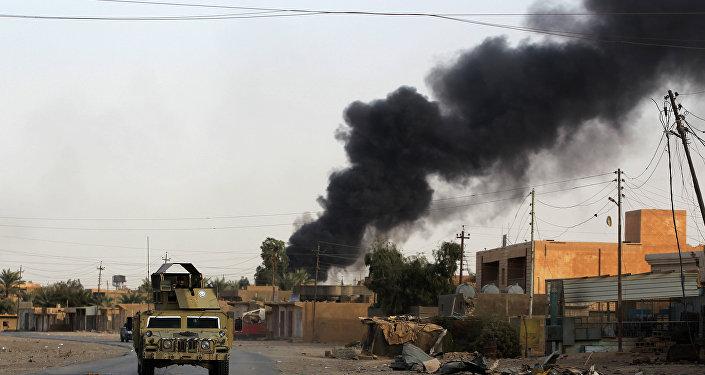 Photo of الحشد الشعبي يُعلن إسقاط طائرة حاولت استهداف الجيش العراقي