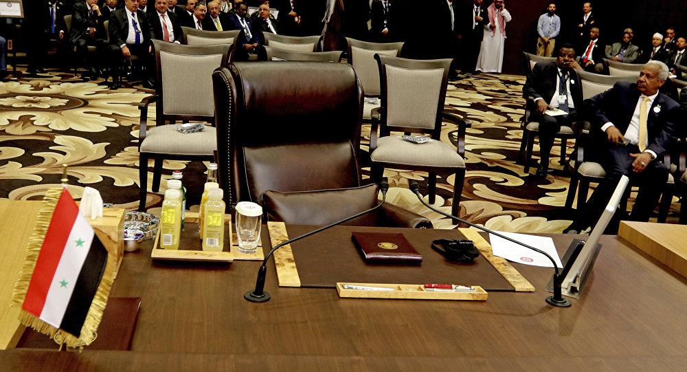 Photo of العراق يدعو إلى إعادة عضوية سوريا في الجامعة العربية