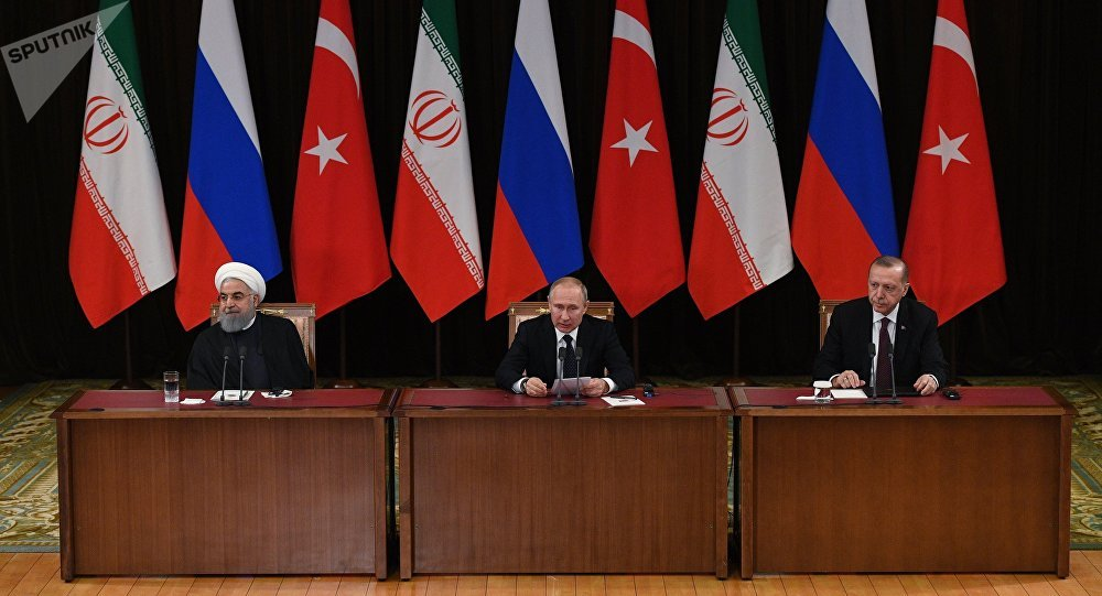 "Photo of توافق ""روسي- إيراني- تركي"" على المشاركة في الاجتماع الأول للدستورية السورية"