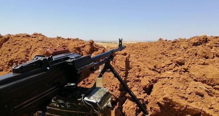 Photo of سحق مجموعة داعشية حاولت التسلل إلى موقع عسكري بدير الزور