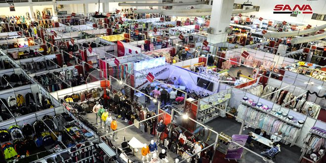 Photo of 100 شركة في المعرض التخصصي (صنع في سورية) للألبسة والأقمشة