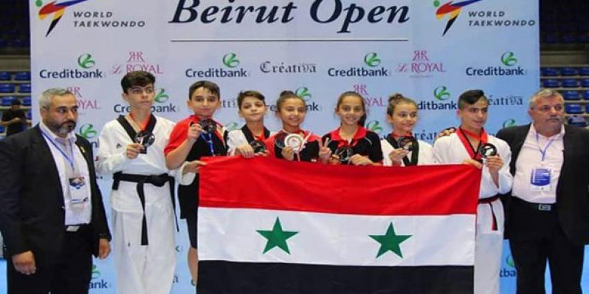 Photo of في بيروت… ثلاث فضيات وأربع برونزيات لمنتخب سوريا للتايكوندو