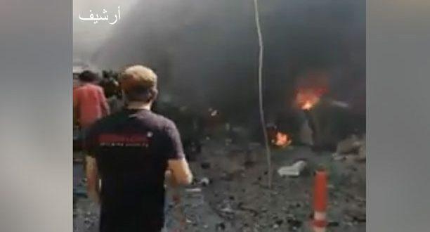 Photo of شهداء وجرحى بانفجار مفخخة بريف حلب