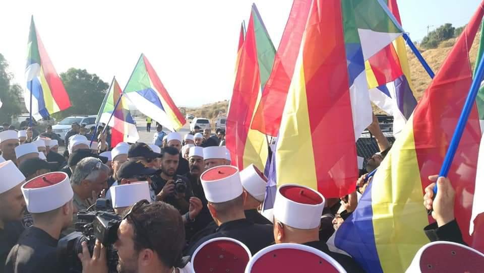 Photo of الاحتلال الإسرائيلي يمنع وفداً من مشايخ الجليل والكرمل من الوصول إلى الحدود الأردنية للتوجه إلى سوريا