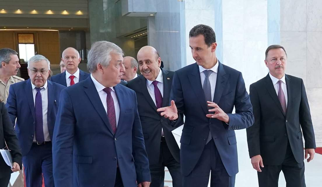 Photo of الأسد يستقبل مبعوث الرئيس الروسي وموسكو تؤكد على الشراكة الاستراتيجية