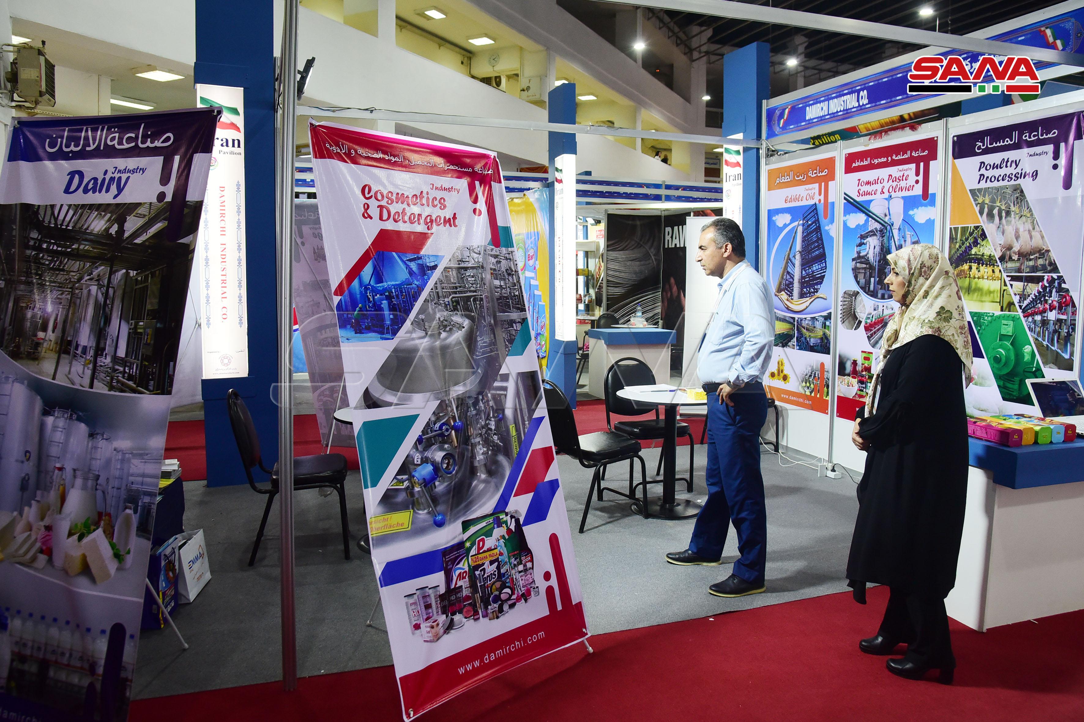 Photo of دعماً للاقتصاد السوري..أكثر من 62 شركة إيرانية مشاركة بمعرض دمشق الدولي