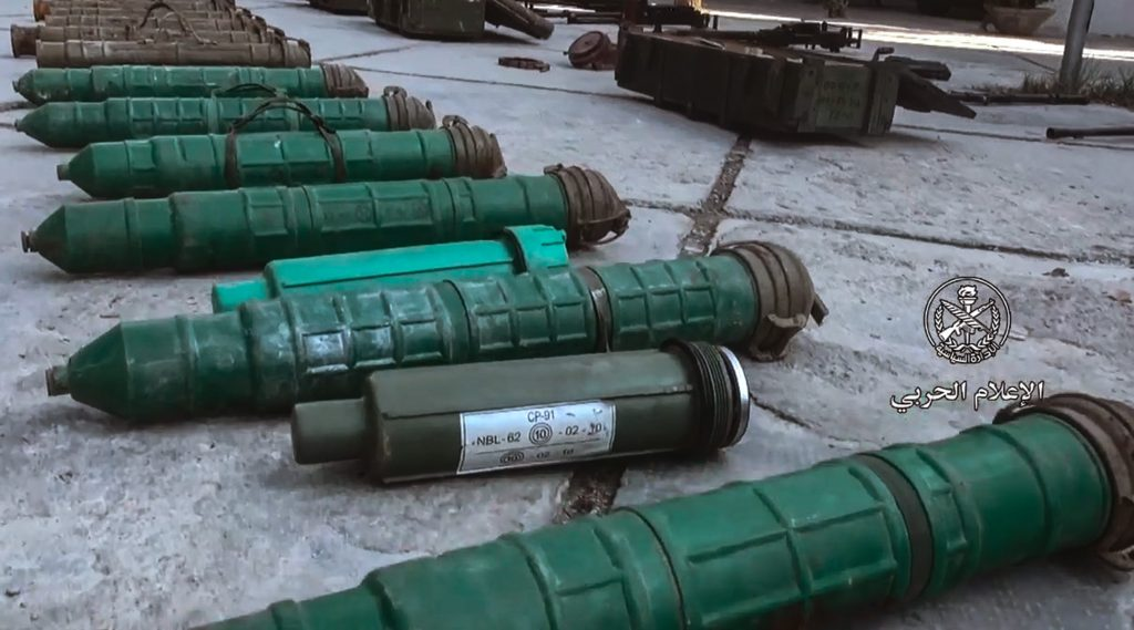 Photo of American TOW missiles find in Saraqib and a huge headquarters for Al-Nusra terrorists in Idleb