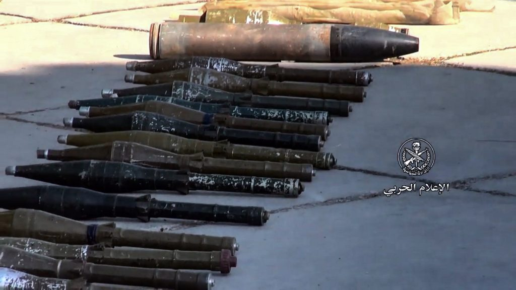 Photo of Component authorities seize amounts of weapons in the southern region