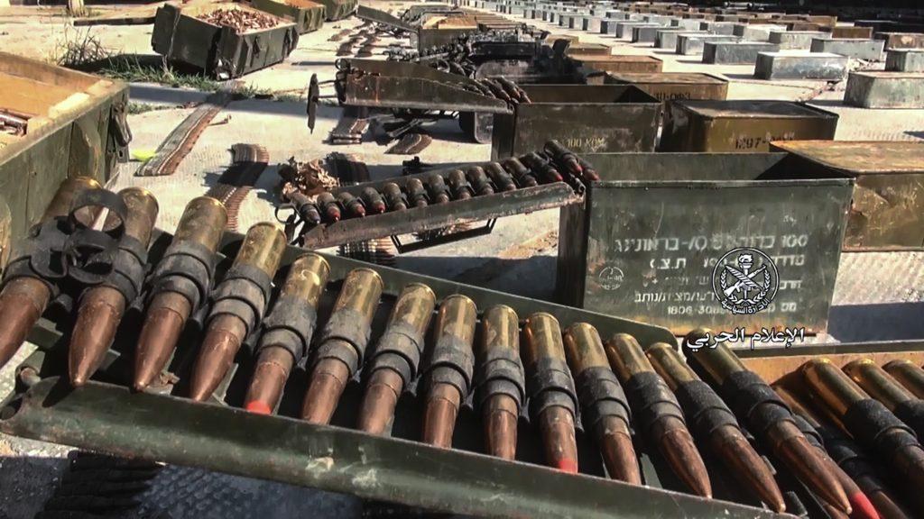 Photo of العثور على مستودع أسلحة بعضها أمريكي الصنع في القلمون الشرقي