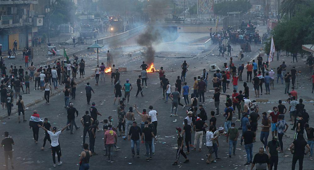 Photo of احتجاجات العراق.. قتلى وجرحى بأعمال عنف