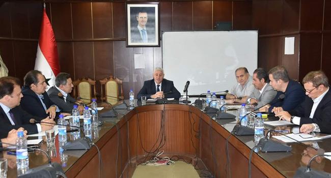 Photo of وزير الصناعة السوري: أهمية تقييم الأداء الصناعي رقمياً وتعزيز الانتاج علمياً وفنياً