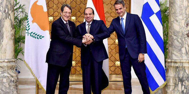 "Photo of ""مصر وقبرص واليونان"" : نؤكد على وحدة الأراضي السورية"