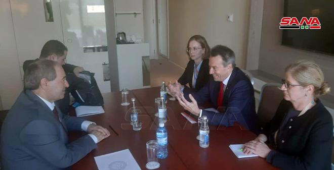"""Photo of في أذربيجان.. لقاء دبلوماسي"""" سوري – فنزويلي"""""""