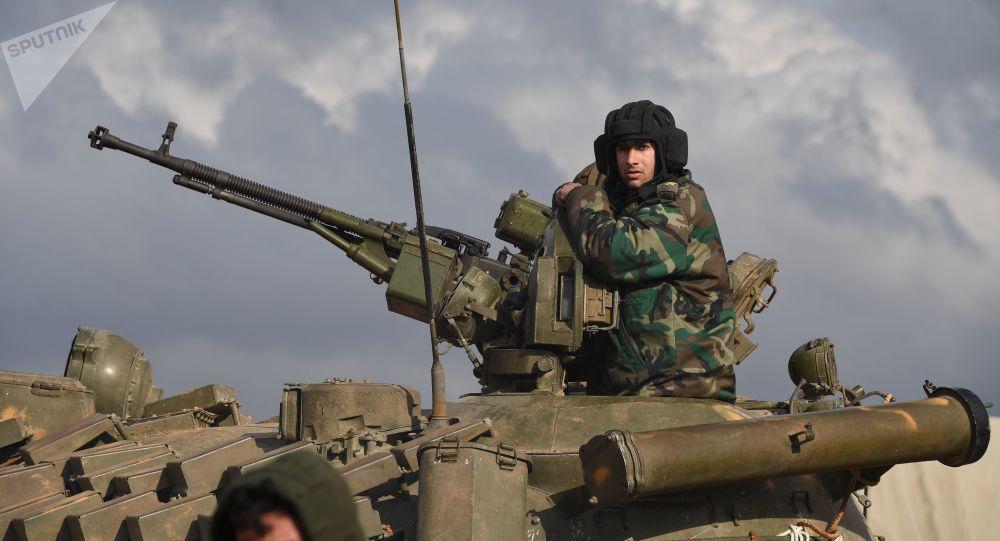 Photo of الجيش يستعد لدخول منبج بأسلحته الثقيلة