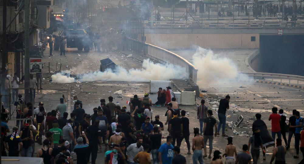 Photo of مظاهرات العراق… مقتل 11 شخصا بواجهات اليوم الثالث