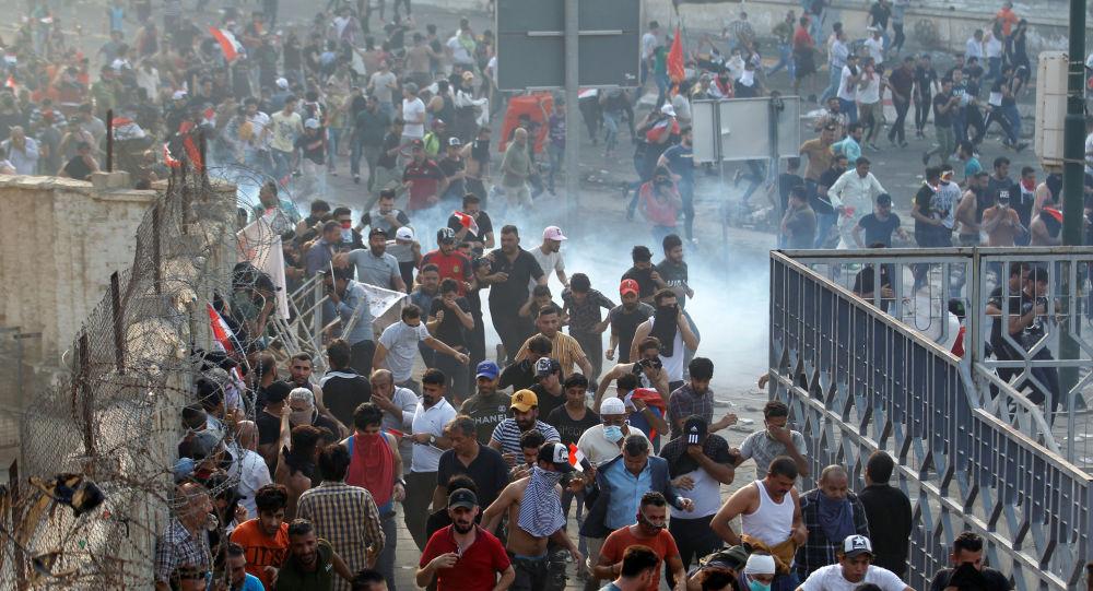 Photo of على خلفية التظاهرات.. انقطاع خدمة الإنترنت في العراق