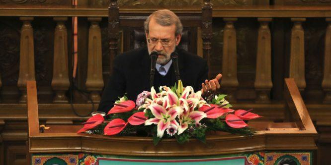 لاريجاني: إيران تدعم أمن واستقرار سوريا