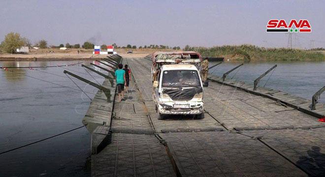 Photo of بدير الزور.. تَدشيّن أول جسر عائم يربط ضفتي نهر الفرات