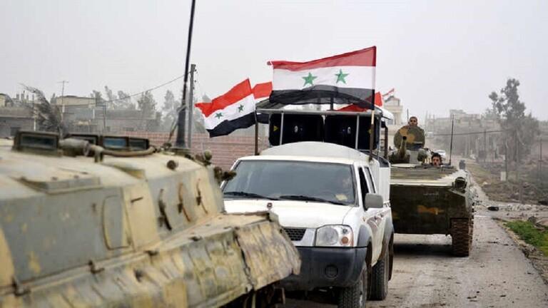 Photo of ثلاثة ألوية مدرعة من الجيش تتجه لشرق الفرات