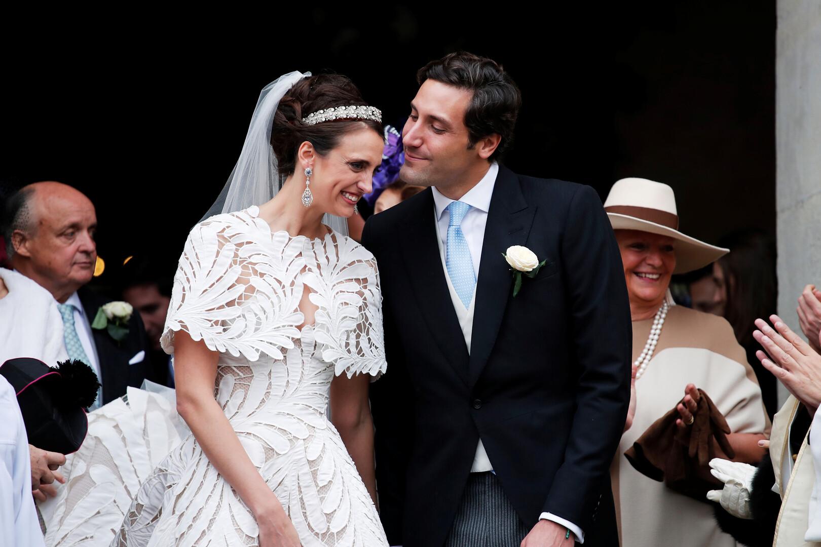 Photo of زواج ملكي فخم لحفيد نابليون بونابرت (صور)