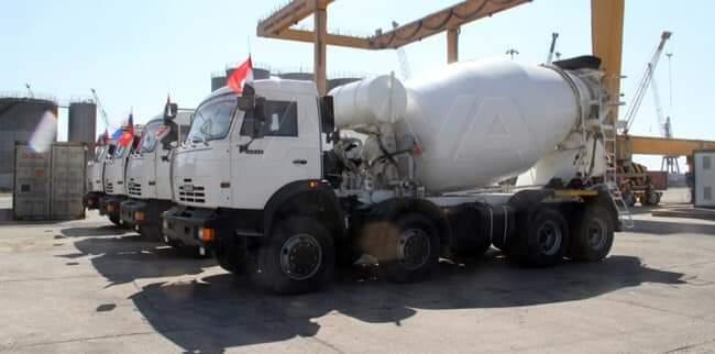 Photo of عبر مرفأ طرطوس.. سوريا تستلم ١٤٤ آلية هندسية من روسيا