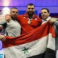 Syrian athlete gains golden medal in World Weightlifting Challenge Cup