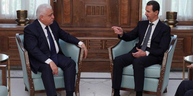 بظل العدوان التركي.. زيارة دبلوماسية عراقية لدمشق
