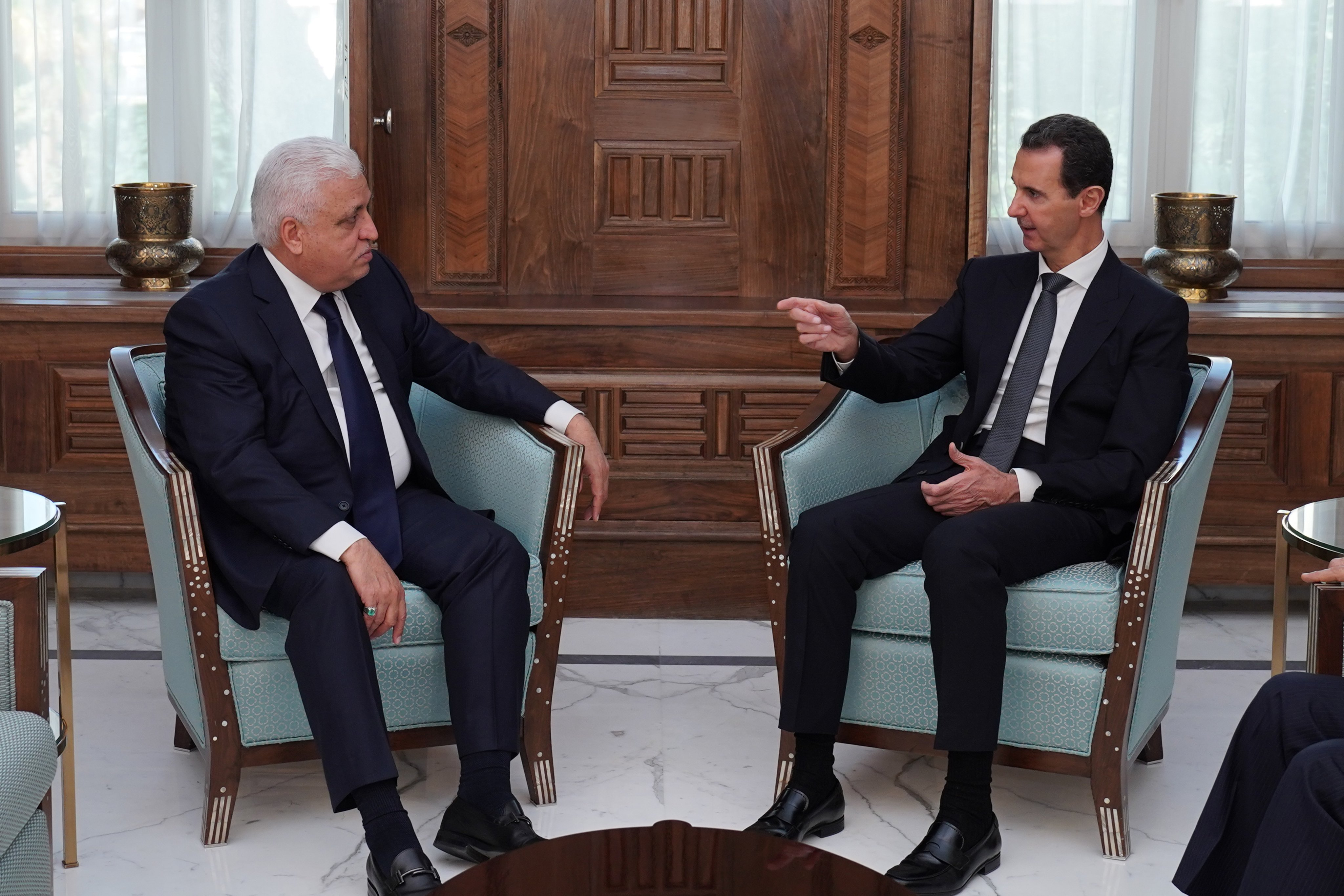 Photo of بظل العدوان التركي.. زيارة دبلوماسية عراقية لدمشق