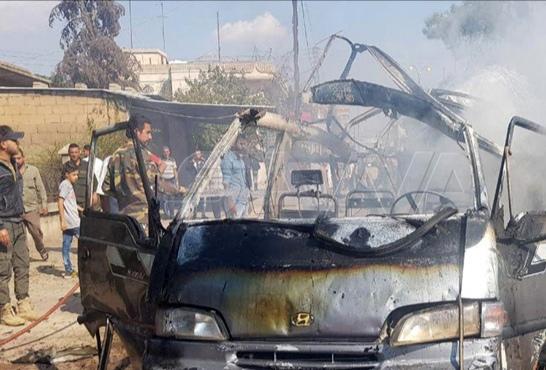 Photo of إصابة عدد من المدنيين بعمليات إرهابية في الشدادي والقامشلي