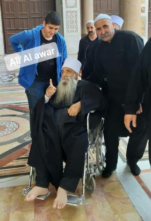 Photo of الشيخ الفاضل ركان الأطرش يزور الجامع الأموي بعد تعافيه من الوعة الصحية التي تعرض لها