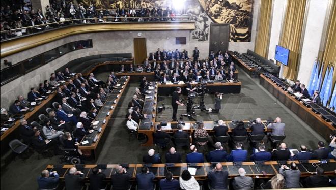 Photo of بدء عمل لجنة مناقشة الدستور في جنيف