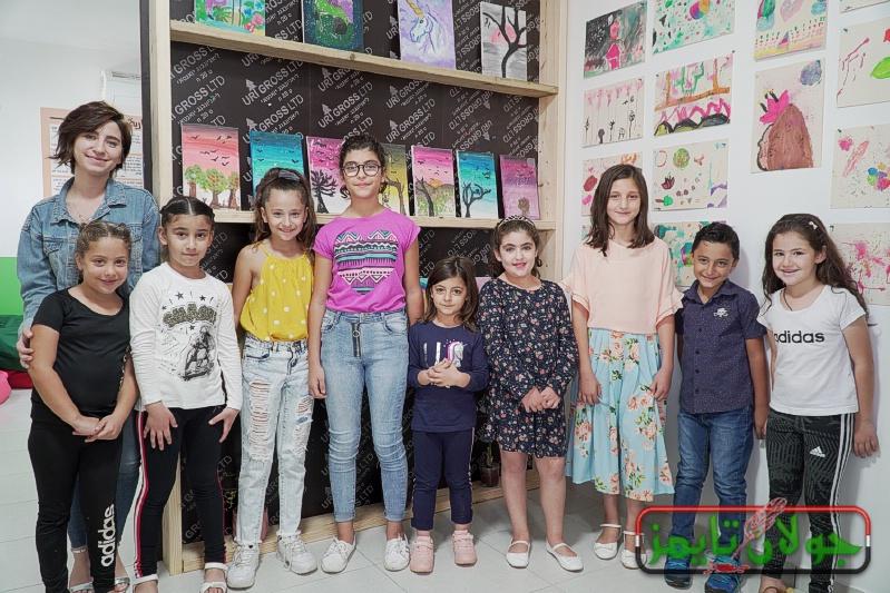 Photo of مركز Bright Future بقعاثا يخرج دورة الرسم ويقيم معرض للاطفال