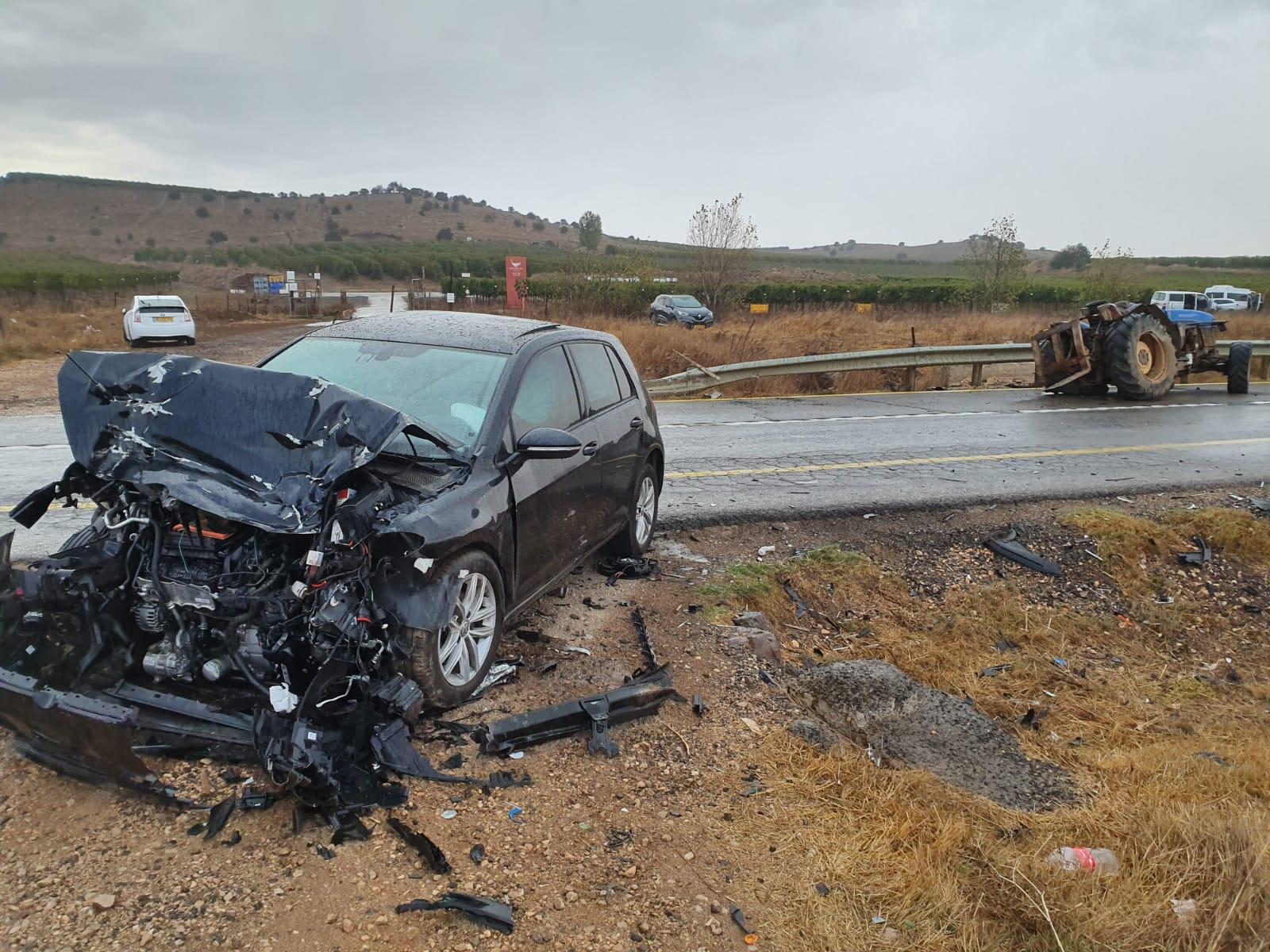 Photo of حادث سير على طريق بقعاثا عيون الحجل