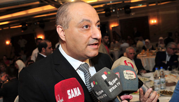 """Photo of عماد سارة : """"إلغاء عقوبة السجن للصحفيين في سوريا.. وقانون إعلام جديد"""