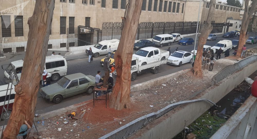 Photo of شجرة عشتار تتألم في دمشق