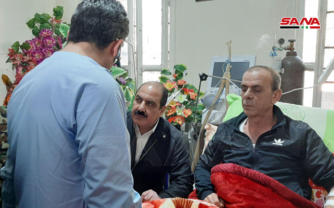 Photo of بتوجيه من الرئيس الأسد… الهلال يزور جرحى الجيش العربي السوري في الحسكة