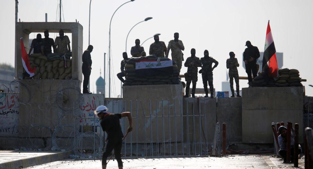 Photo of قتلى وجرحى من المتظاهرين في ذي قار جنوبي العراق