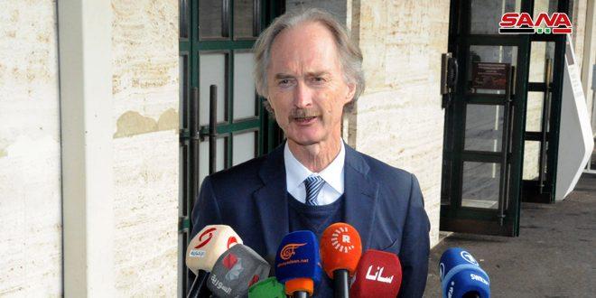 Photo of بيدرسون: لم يكن هناك اتفاق على جدول أعمال لجنة مناقشة الدستور ونأمل بتحديد موعد للجولة القادمة