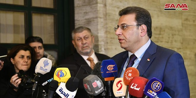Photo of الكزبري: اجتماعات الهيئة الموسعة للجنة مناقشة الدستور كانت جيدة