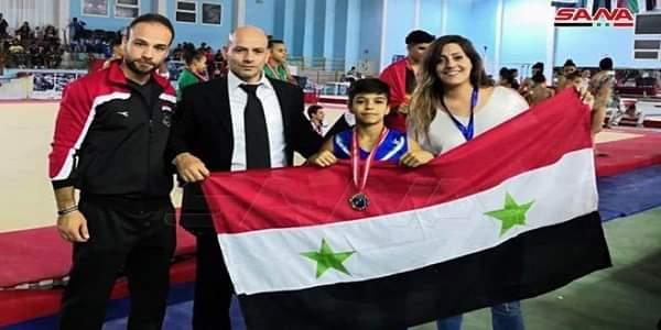 Photo of Syria's team wins twelve medals at Arab Championship of Gymnastics