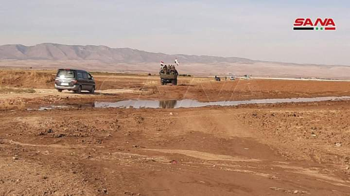 Photo of Syrian Arab Army brought new military reinforcements to its units in Hasaka