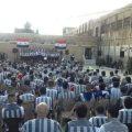 """حدث نادر.. موسيقا """"جوقة الفرح"""" داخل سجن دمشق"""
