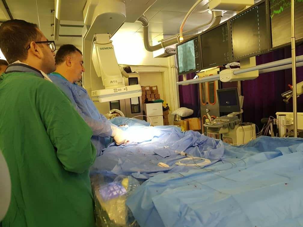 "Photo of لأول مرة.. عمل ""جراحي نوعي"" في مشفى تشرين الجامعي باللاذقية"