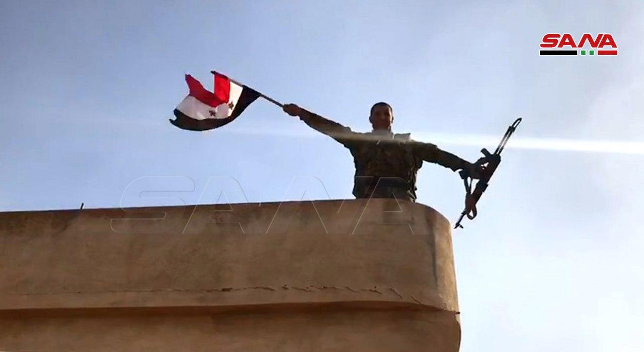 Photo of بالصور – الجيش يُحرر قرية أم شعيفة بريف راس العين
