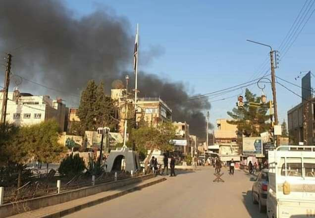 Photo of Two civilians martyred in car bomb explosion in Hasaka countryside