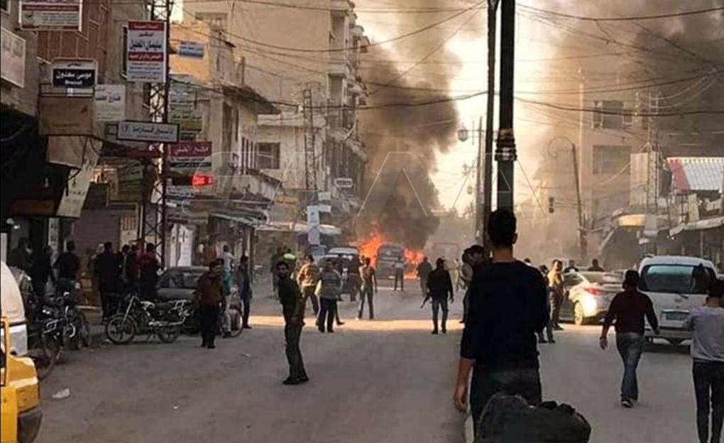 Photo of 7 شهداء و70 جريحاً بتفجير إرهابي بالقامشلي